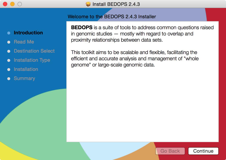 2  Installation — BEDOPS v2 4 36